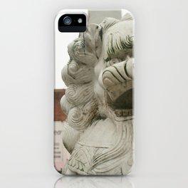 Guardian Lion iPhone Case