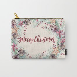 Xmas Wreath II Carry-All Pouch