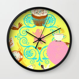 SURREAL PARTY Wall Clock