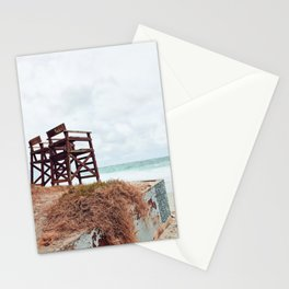 Beach Seats Stationery Cards
