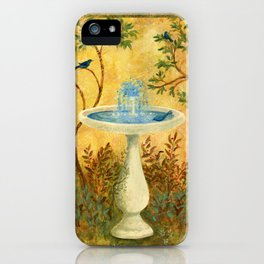 Peace Garden iPhone Case
