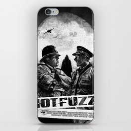 Hot Fuzz iPhone Skin