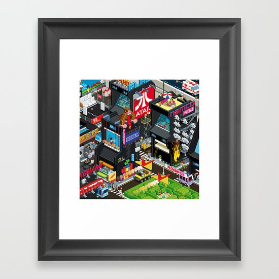 GAMECITY Framed Art Print
