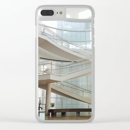 Stark Stairs Clear iPhone Case
