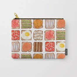 Breakfast Toast Carry-All Pouch