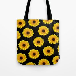 cute sunflower Tote Bag