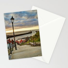 Whitby Sun Set Stationery Cards