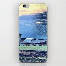 Sunset over the Farm Barn iPhone & iPod Skin