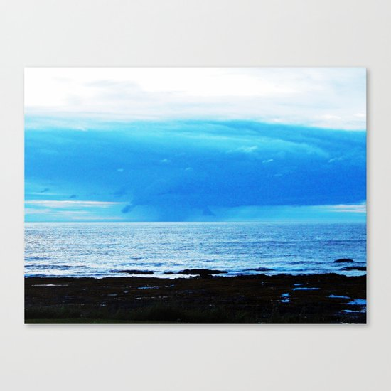 Storm Funnels Above the Sea Canvas Print