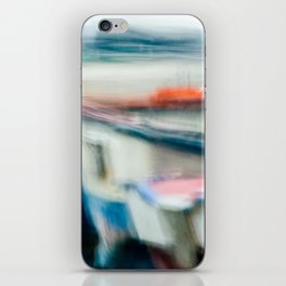 Boats Painting iPhone Skin
