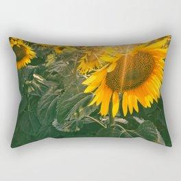 summer in the fields Rectangular Pillow