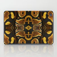 monty python iPad Cases featuring Ball Python by Moody Muse