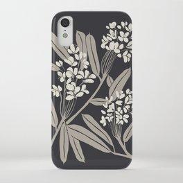 Boho Botanica Black iPhone Case