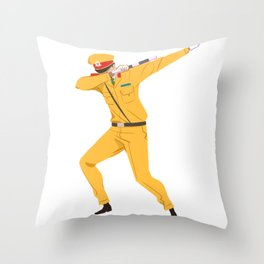 Vietnamese Traffic Cop Dab Throw Pillow
