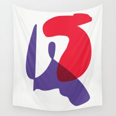 Matisse Shapes 10 Wall Tapestry