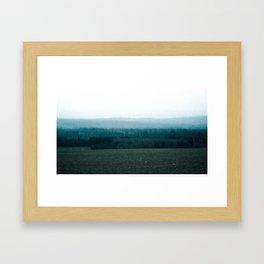 Contrast in Pasture Framed Art Print