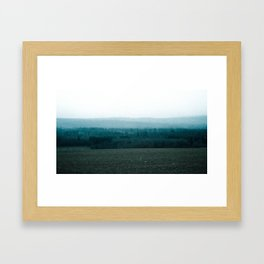 Contrast in Pasture Framed Art Print