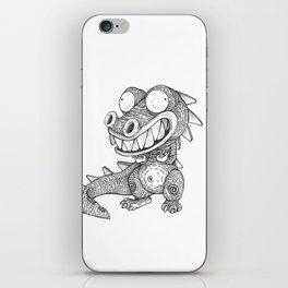Weird Alligator iPhone Skin