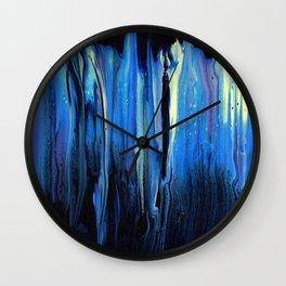 Midnight Reflection Wall Clock