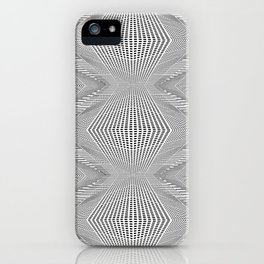 Geometric 3 D Architecture Repeat iPhone Case