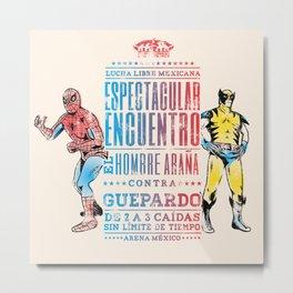 Espectacular Encuentro Metal Print