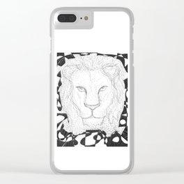 El Zodiaco De Riendo < Leo Clear iPhone Case