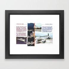 Planes # 12 Framed Art Print
