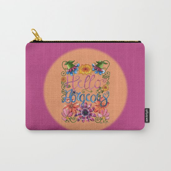 Hello Gorgeous 2 Carry-All Pouch