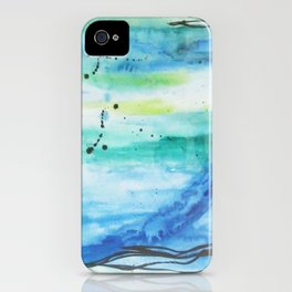 Ocean Vertical (where earth meets sky) iPhone Case