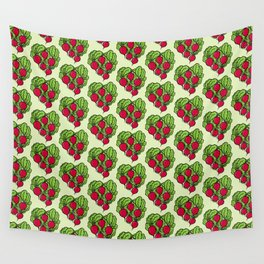 Love for Radishes Wall Tapestry