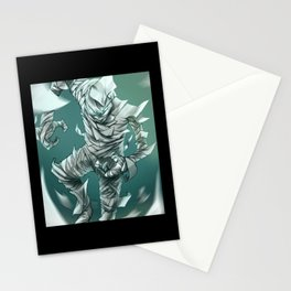 Paper Man Toilet Paper Warrior Stationery Cards