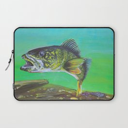 That's what all the pickerel say Laptop Sleeve