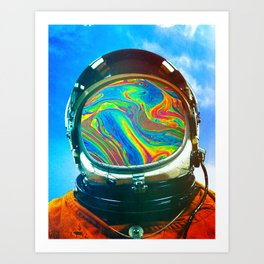 Just A Chemical Art Print