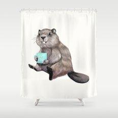 Dam Fine Coffee Shower Curtain