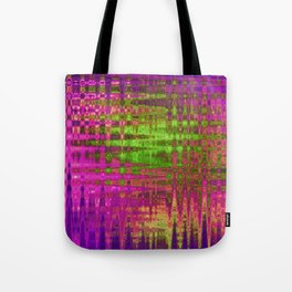 On the Purple Wire Tote Bag