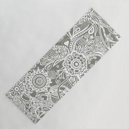 Tones of gray Yoga Mat
