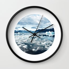Icescape Wall Clock