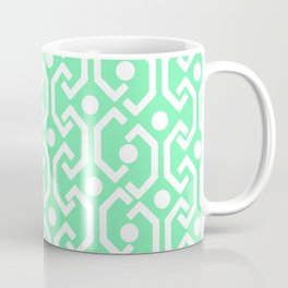 Ethnic Pattern (Mint) Coffee Mug
