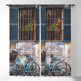 Savonnerie and Bicycles, Hoi An Ancient Town, Vietnam Blackout Curtain