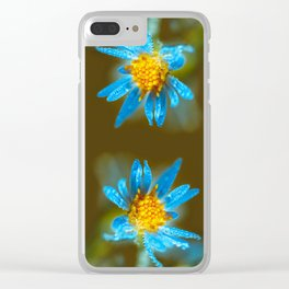 Autumn dew Clear iPhone Case