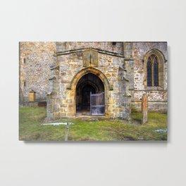 Holy Trinity Church, Wensley Metal Print