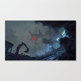 The Rise of Industry Canvas Print