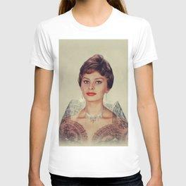 Sophia Loren, Vintage Actress T-shirt