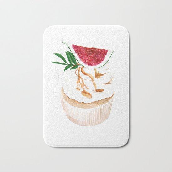 Fig Cupcake Bath Mat