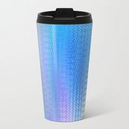 Sky Blue Pink Travel Mug
