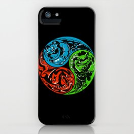 POKéMON STARTER: THREE ELEMENTS iPhone Case