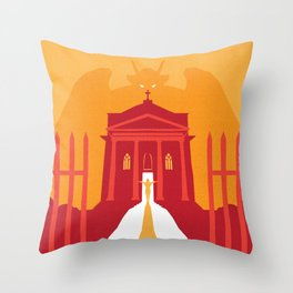 John Carpenter, Modern Master Series :: Prince of Darkness Throw Pillow