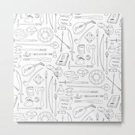 Fantasy Adventuring Equipment Metal Print