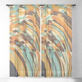 Crunchy Sheer Curtain