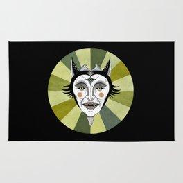 Cat Color Wheel No. 2 Rug
